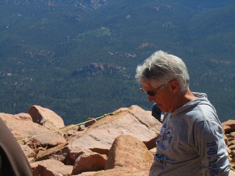 Ron Ilgen Pikes Peak Ascent 2013