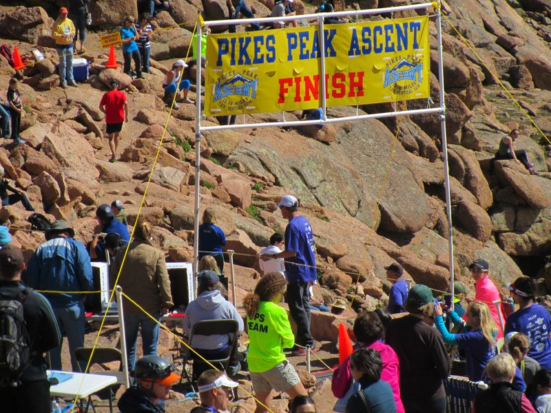 PIkes Peak Ascent