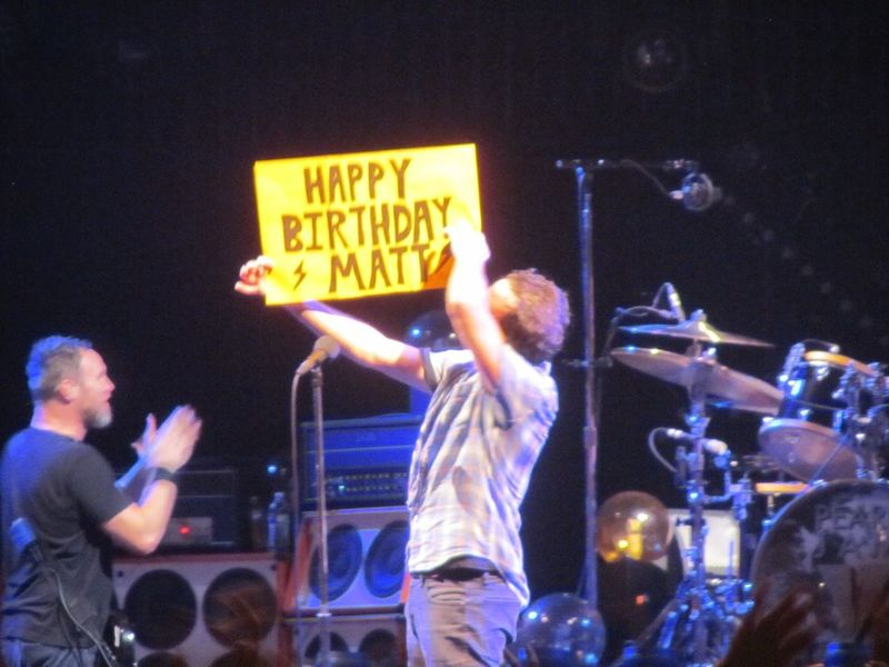 Pearl Jam Portland OR 11/29/13