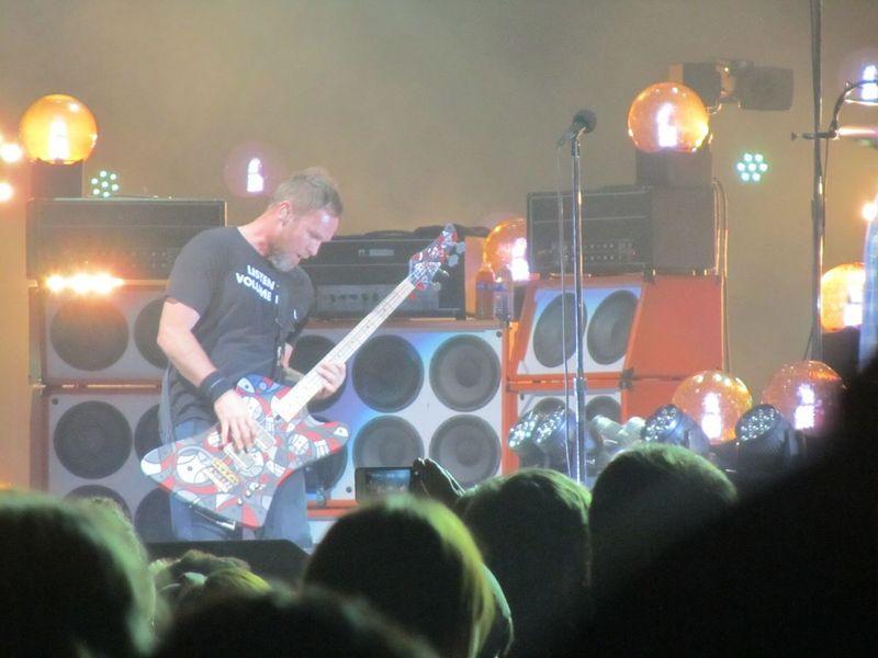 Jeff Aiment Pearl jam Portland OR 11/29/13