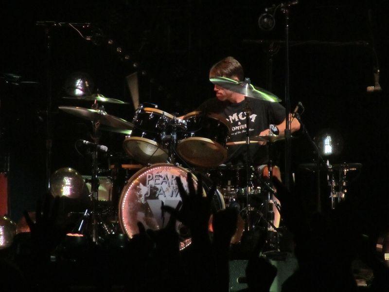 Matt Cameron Pearl Jam 11/29/13