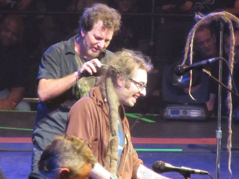Pearl Jam Spokane WA 11/30/13 haircut