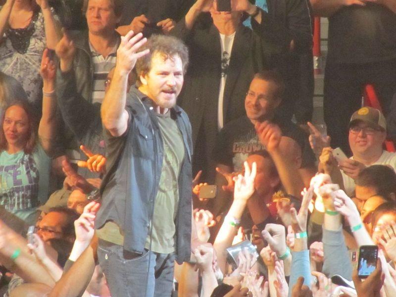 Pearl Jam Spokane WA 11/30/13