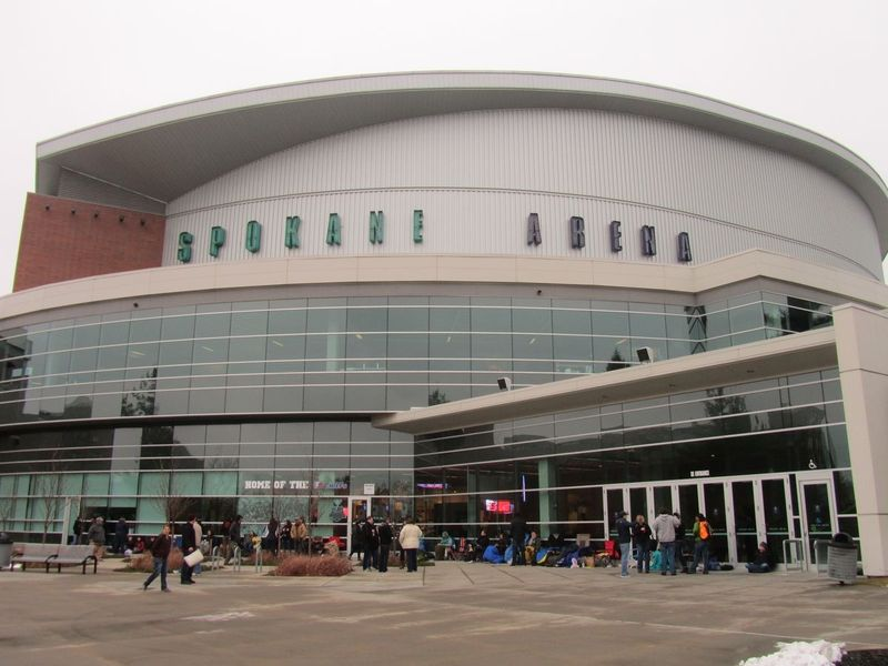Spokane Arena Pearl Jam 11/30/13