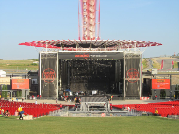 Levis Stadium Capacity >> Austin TX: Phish 7/28/15 at Austin360 Amphitheater -- Salt ...