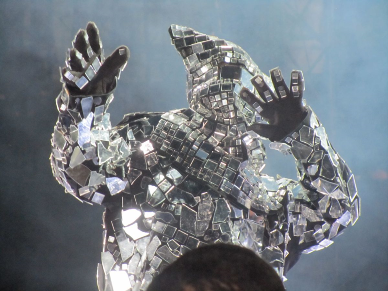 Mirror Man from Arcade Fire at the gorge
