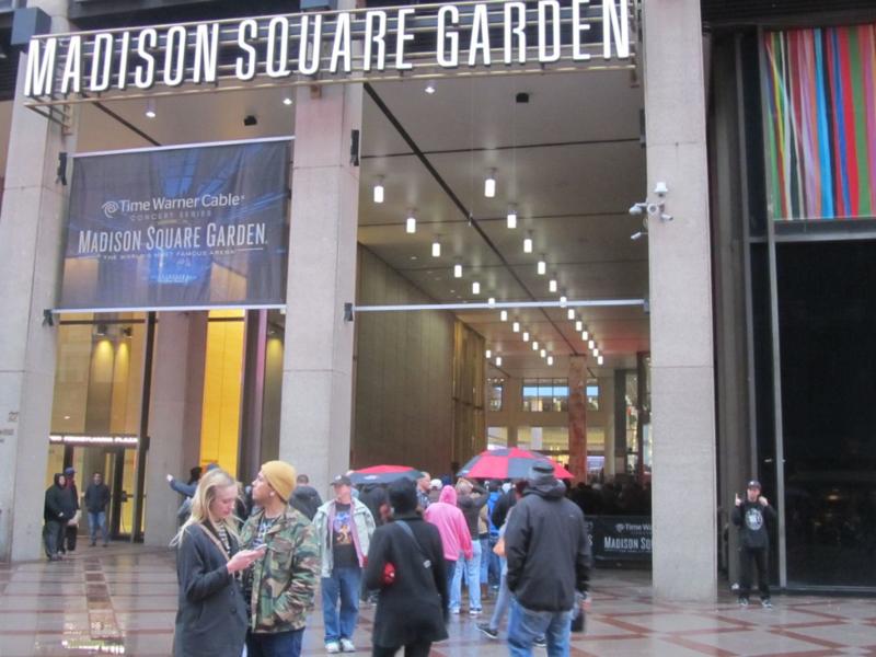 Pearl Jam Madison Square Garden 5/1/16