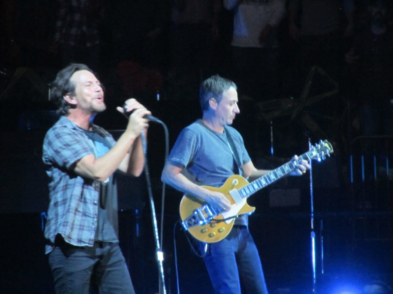 Pearl Jam Madison Square Garden 5/1/16