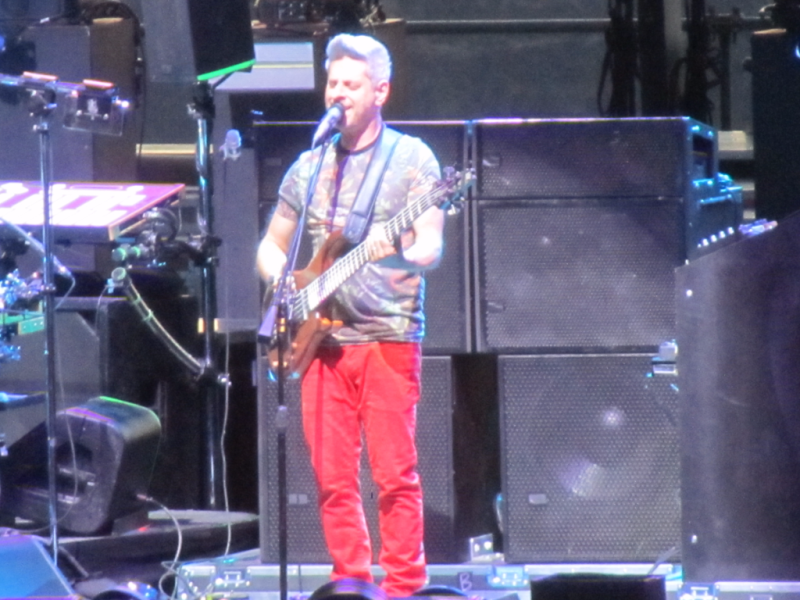 Mike Gordon of Phish at the Gorge
