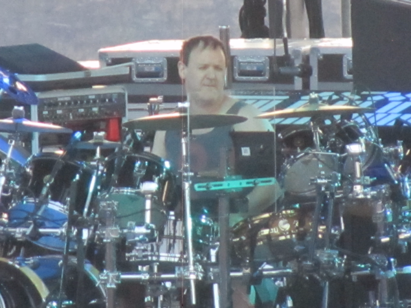 Jon Fishman of Phish at the Gorge