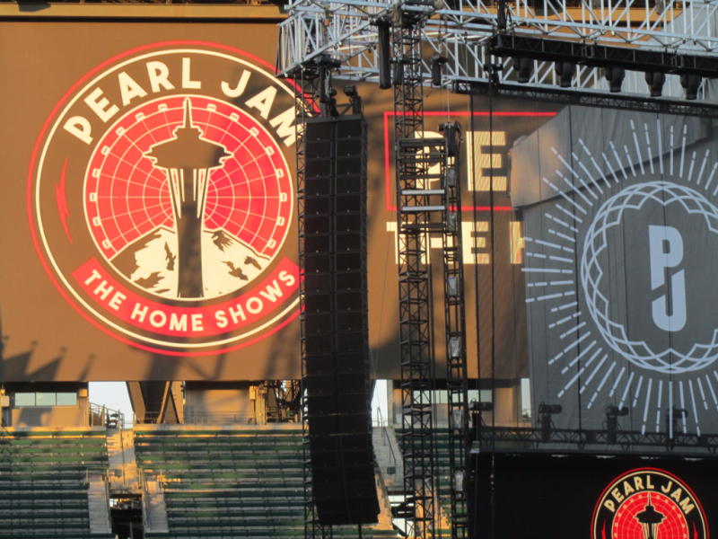 Pearl Jam #homeshows