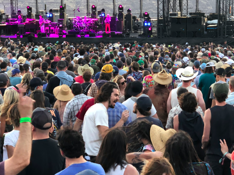 Phish at the Gorge 7/20/18