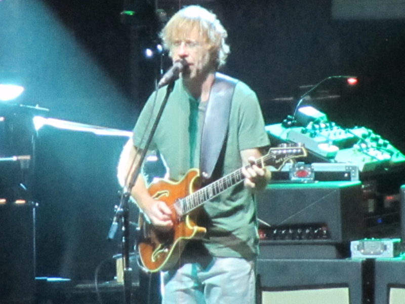 Trey Anastasio of Phish at the Gorge 7/20/18