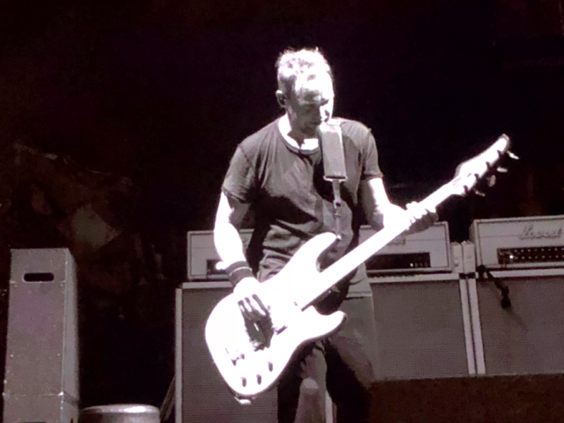 Jeff Ament of Pearl Jam at #HomeShows